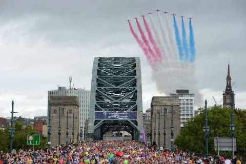 There's not long left to apply for the 2019 Great North Run through the ballot