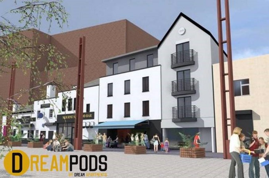 Dream Pods touchdown in Belfast's Bank Square
